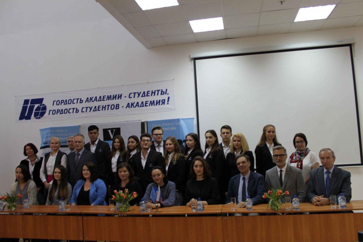 Vatel МОСКВА (Moscow) - Торжественная церемония приема студентов 1-го  курса набор 2017 - 20