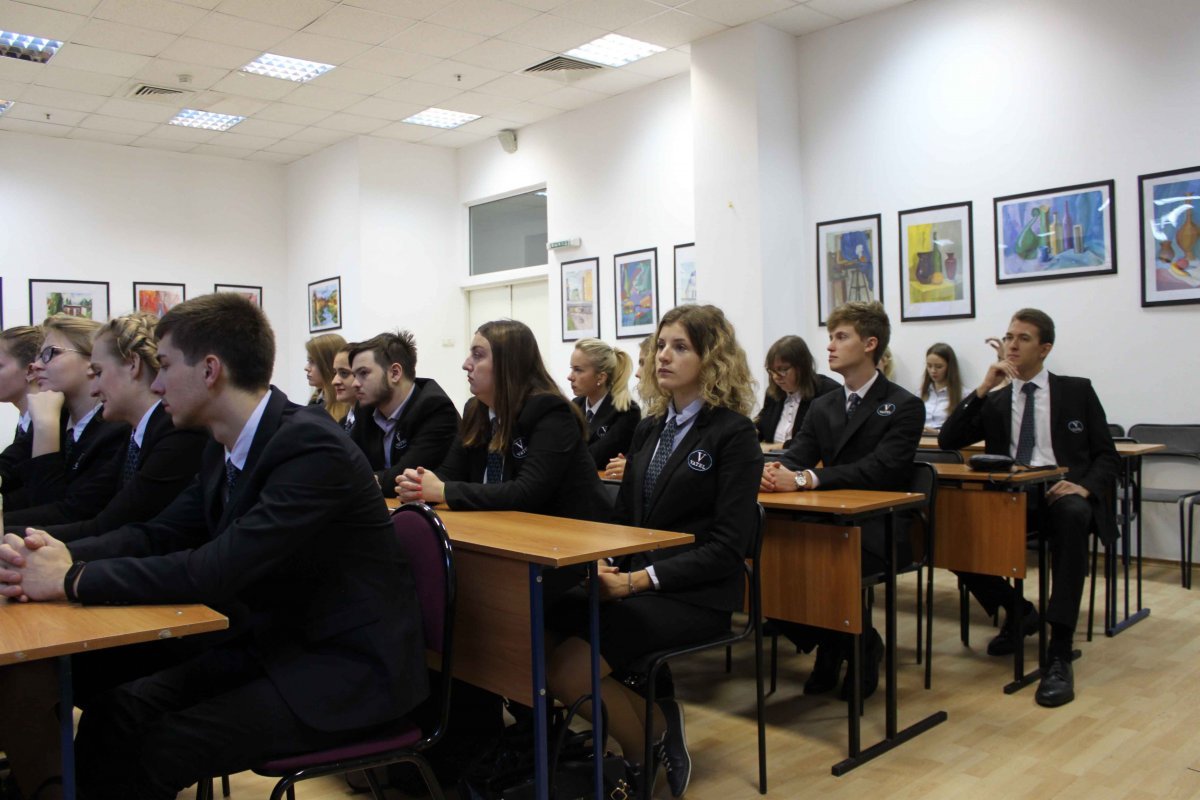 Vatel МОСКВА (Moscow) - Торжественная церемония приема студентов 1-го  курса набор 2017 - 2