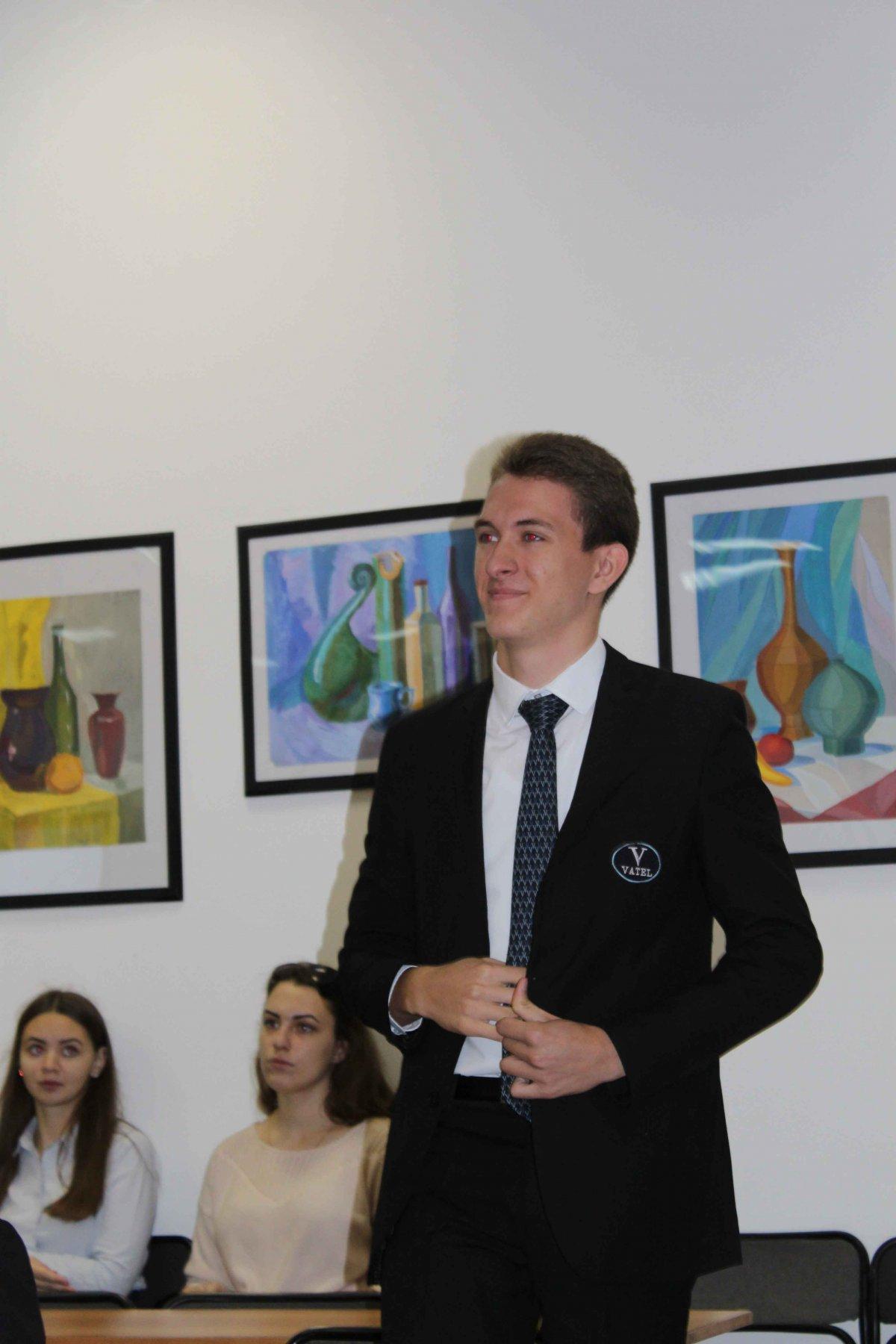 Vatel МОСКВА (Moscow) - Торжественная церемония приема студентов 1-го  курса набор 2017 - 3
