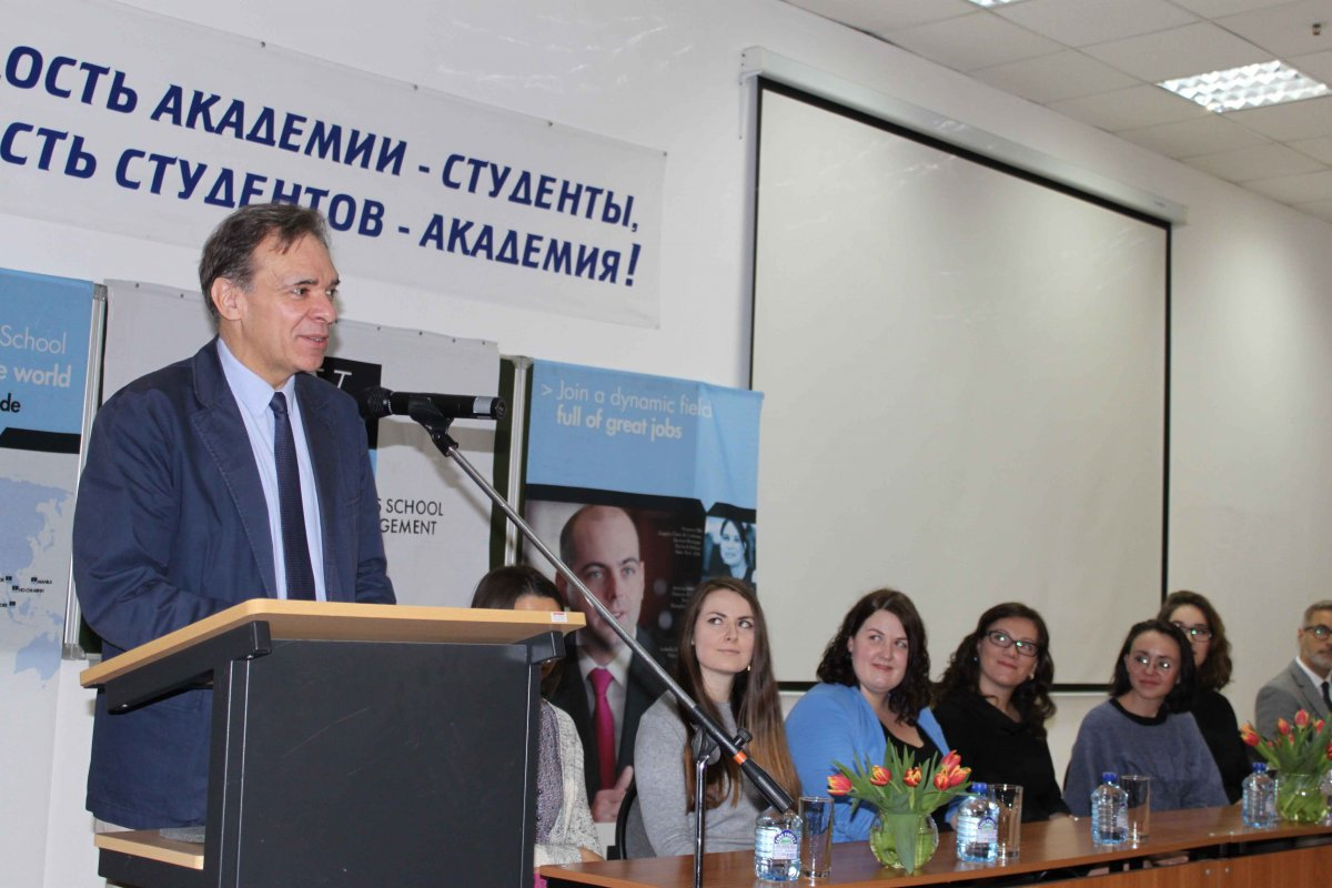 Vatel МОСКВА (Moscow) - Торжественная церемония приема студентов 1-го  курса набор 2017 - 5