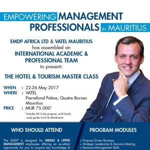 THE HOTEL & TOURISM MASTER CLASS